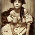 Evelyn Nesbit 1900 by © Kira Bodensted