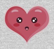 Kawaii Heart Kids Tee