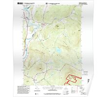 USGS TOPO Map New Hampshire NH Piermont 329750 1996 24000 Poster