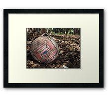 England forgotten ball ( football ) Framed Print
