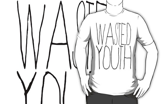 Wasted Youth by mik3hunt
