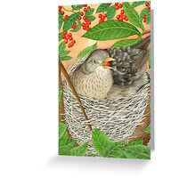 The Female Blackbird Greeting Card