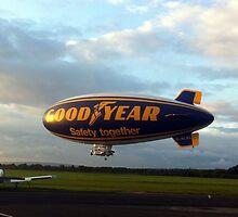 Good Year Airship by John Maxwell