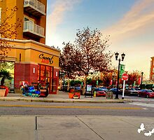 MARKET COMMONS HDR NOTICE THE SLED by TJ Baccari Photography