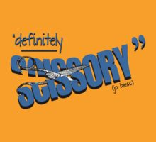 """Definitely Scissory"" T-Shirt"