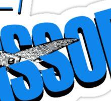 """""""Definitely Scissory"""" Sticker"""