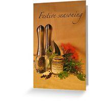 Festive seasoning Greeting Card