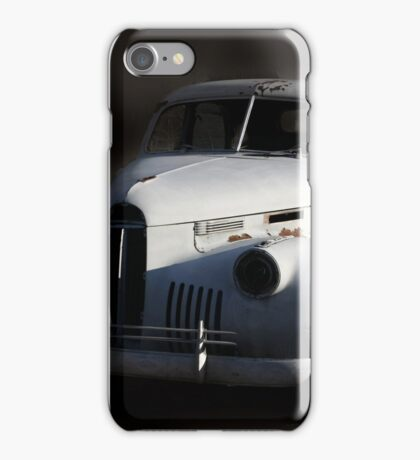 When an Irresistible Force Meets a Moveable Object iPhone Case/Skin