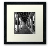 UWA Framed Print