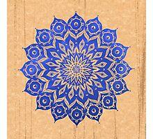 okshirahm sky mandala Photographic Print