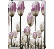 Tulip flowers iPad Case/Skin