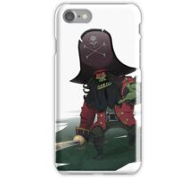 Zombie Pirate LeChuck iPhone Case/Skin