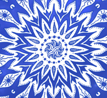 okshirahm sky mandala Sticker