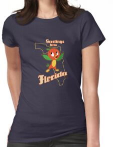 Greetings from Florida Womens Fitted T-Shirt