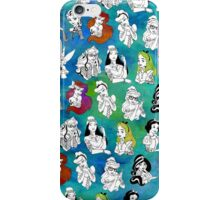 Punk Disney Princess iPhone Case/Skin
