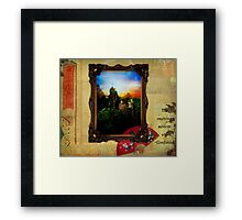 The Cautious Seldom Err Framed Print