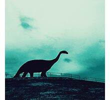 Lonely Dinosaur Photographic Print