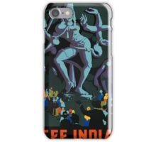Vintage poster - India iPhone Case/Skin