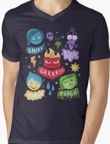 Colourful Mind Mens V-Neck T-Shirt