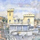 hotel a Pegli by Luca Massone  disegni