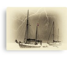Storm Force 12 Imminent Canvas Print