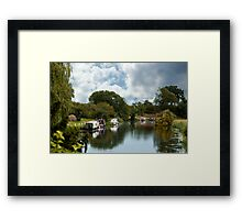 River Nene  Framed Print