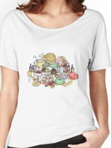Feast foods Women's Relaxed Fit T-Shirt