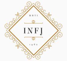 INFJ Ornamental Insignia (light) One Piece - Short Sleeve
