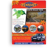 CEIR - PENNANT - CARS Flyer Canvas Print