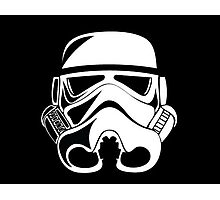 Stormtrooper 2D  Photographic Print