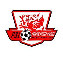 Premier Soccer Leagues Badge Photographic Print