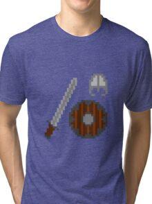 Medieval 8-bit Tri-blend T-Shirt