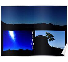 Teide Light Triptych #1 Poster