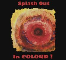 Splash Out in Colour Kids Tee