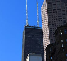 Chicago Towers by Frank Romeo