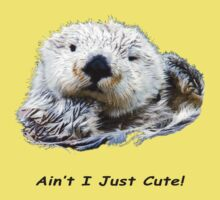 Aint I Just Cute! Otter One Piece - Short Sleeve