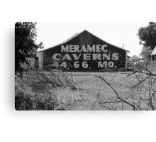 Route 66 - Meramec Caverns Barn Canvas Print