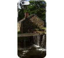Canal house at Waterloo Village iPhone Case/Skin