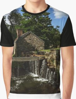 Canal house at Waterloo Village Graphic T-Shirt