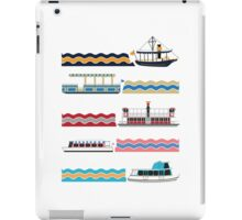 Watercraft Transportation System iPad Case/Skin
