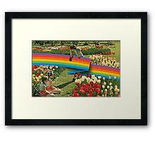 Polaroid Framed Print