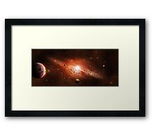 Planet Valkyrie Framed Print
