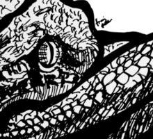 Light Snake T-Shirt by Frank Louis Allen Sticker