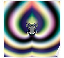 Psychedelic Heart Poster