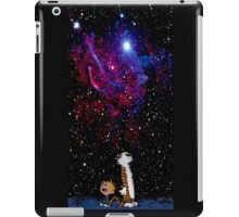 Calvin and hobbes Go to christmas iPad Case/Skin