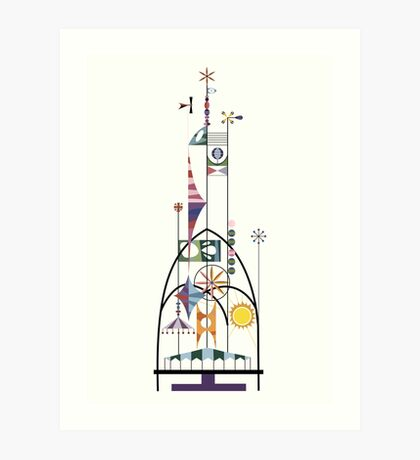 Tower of the Four Winds Art Print