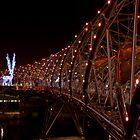 Singapore: The Helix Bridge by Kasia-D