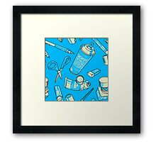 Weapons of mass construction Framed Print