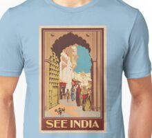 Vintage poster - India Unisex T-Shirt