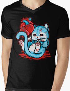Cat Got Your Heart? Mens V-Neck T-Shirt